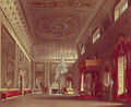 The Saloon, Buckingham Palace from Pynes Royal Residences, 1818 - William Henry Pyne