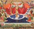 The Coronation of the Virgin, completed 1454 2 - Enguerrand Quarton