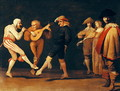 Farce Actors Dancing - Pieter Jansz. Quast