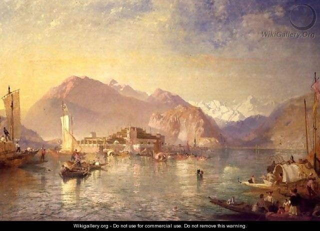 Isola Bella on Lake Maggiore - James Baker Pyne