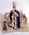 Knight of the Garter, from Costume of Great Britain published by William Miller, 1805 - William Henry Pyne