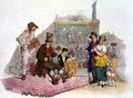Country Fair, from Costume of Great Britain, published by William Miller, 1805 - William Henry Pyne