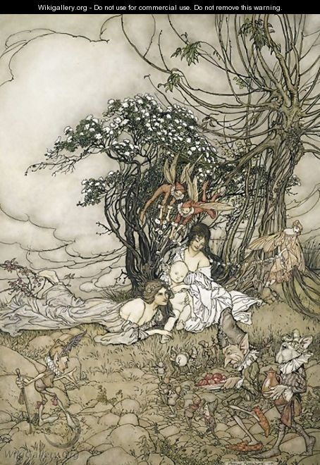 The Changeling, 1905 - Arthur Rackham