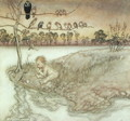 Illustration to Peter Pan in Kensington Gardens by J.M. Barrie, 1912 - Arthur Rackham