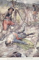 Today a Man Has Fallen Who Did Honour to Man, illustration from The Story of France Told to Boys and Girls by Mary MacGregor, 1920 - (after) Rainey, William