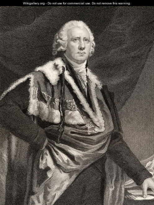 Henry Dundas, engraved by S. Freeman, from National Portrait Gallery, volume III, published c.1835 - Sir Henry Raeburn