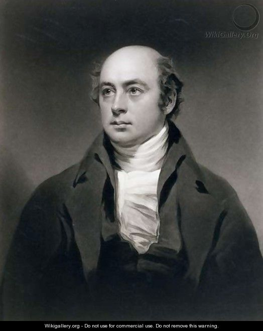 Sir Francis Leggatt Chantrey 1781-1841 engraved by C. Turner, 1843 - Sir Henry Raeburn