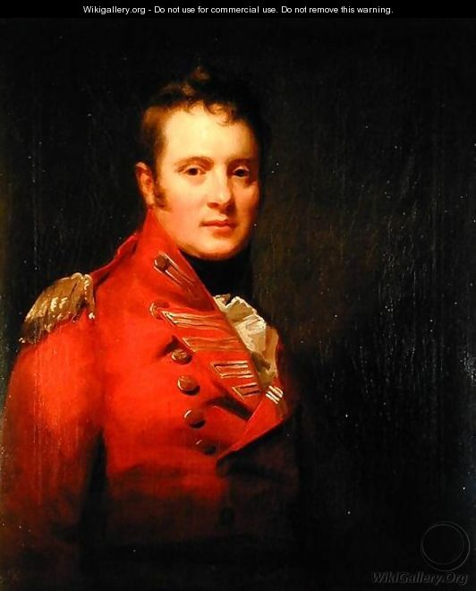 Portrait of Colonel Alexander Campbell of Possil - Sir Henry Raeburn