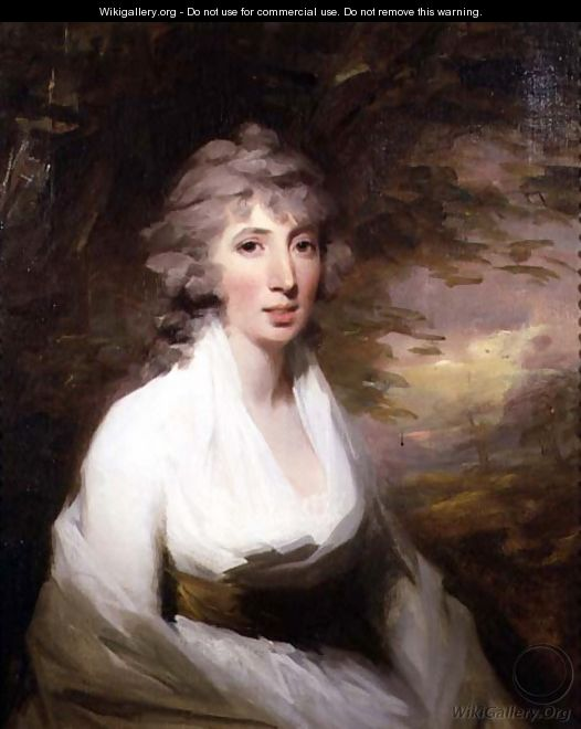 Portrait of Mary, Lady Pitmille - Sir Henry Raeburn