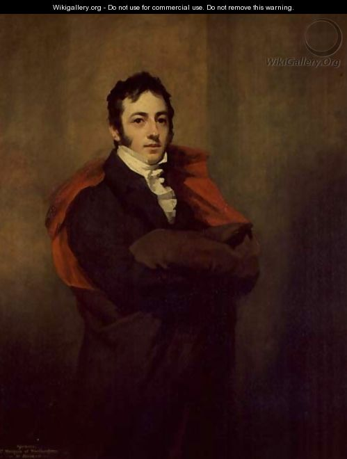 Spencer, 2nd Marquess of Northampton, 1821 - Sir Henry Raeburn