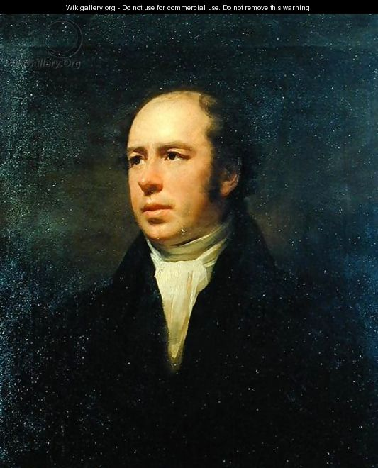 Portrait of The Reverend John Thomson, Minister of Duddingston - Sir Henry Raeburn