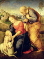 The Holy Family with the Lamb, 1507 - (after) Raphael (Raffaello Sanzio of Urbino)