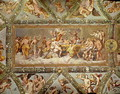 The Banquet of the Gods, ceiling painting of the Courtship and Marriage of Cupid and Psyche - (after) Raphael (Raffaello Sanzio of Urbino)