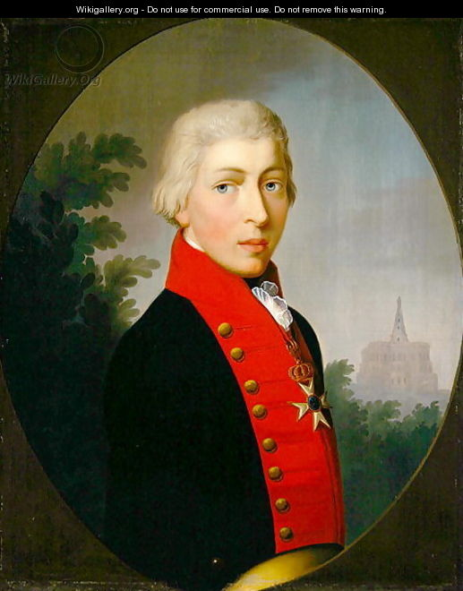 Portrait of the Second Elector of Hessen, 1806 - Andreas Range
