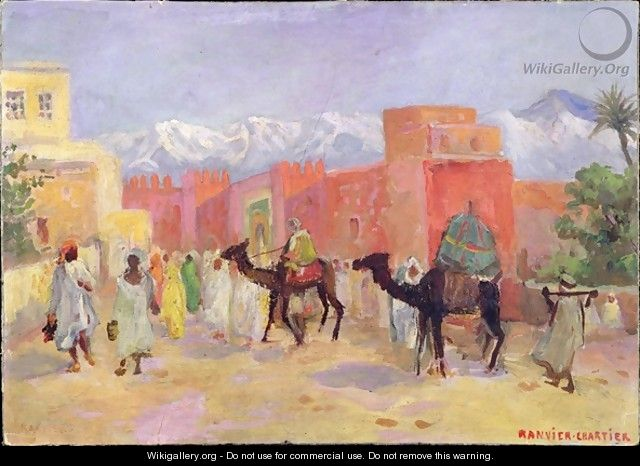 A Village in the Atlas Mountains - Lucie Ranvier-Chartier