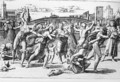 The Massacre of the Innocents, engraved by Marcantonio Raimondi - (after) Raphael (Raffaello Sanzio of Urbino)
