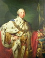 Portrait of George III 1738-1820 in his Coronation Robes, c.1760 - Allan Ramsay