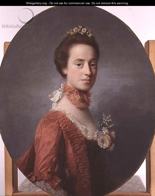 Lady Mary, wife of Lord Robert Manners 1737-1819 - Allan Ramsay
