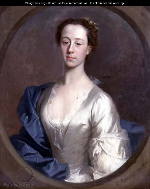 Portrait of Catherine Gale 1716-52, 1740 - Allan Ramsay