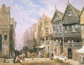 Watergate Street, looking towards Eastgate, Chester, c.1870 - Louise Rayner