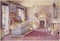 Interior of a bedroom - Samuel A. Rayner