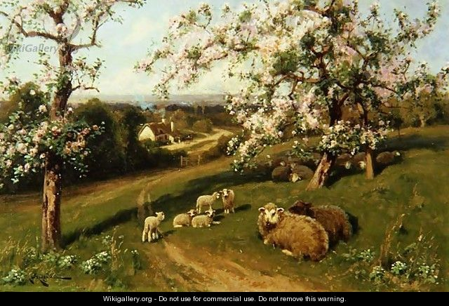 Spring, one of a set of the four seasons - Arthur Walker Redgate