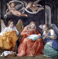 The Virgin Sewing, from the Cappella dellAnnunciata Chapel of the Annunciation 1610 - Guido Reni