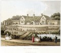 The Work House, from Fragments on the Theory and Practice of Landscape Gardening, pub. 1816 - Humphry Repton