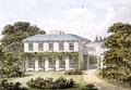 Design for the South Front of a House on Clapham Common for William Holme - Humphry Repton