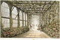 Corridor of a Conservatory, engraved by Joseph Constantine Stadler fl.1780-1812 from Designs for the Pavilion at Brighton, pub. 1808 - Humphry Repton
