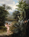 Cupid inspiring the Plants with Love, painted for Robert Thorntons Book New Illustration of the Sexual System of Linnaeus, c.1797 - Philip Reinagle