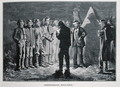 Confederate Roll-call, engraved by Ernst Heinemann 1848-1912, illustration from Battles and Leaders of the Civil War, edited by Robert Underwood Johnson and Clarence Clough Buel - (after) Redwood, Allen Carter