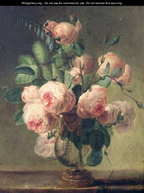 Vase of Flowers - Pierre-Joseph Redouté