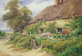 A Cottage at Hythe - Hetty Richards