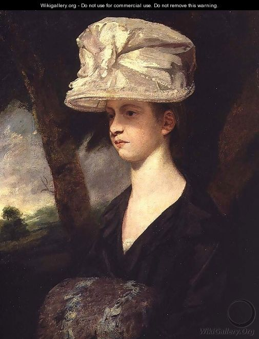 Portrait of Miss Palmer - Sir Joshua Reynolds