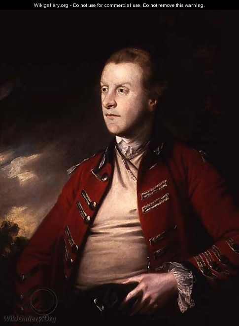 Colonel William, Viscount Pulteney 1731-63, 1761 - Sir Joshua Reynolds