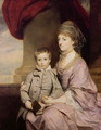 Elizabeth Herbert, Countess of Pembroke 1737-1831 and her son George, Lord Herbert 1759-1827 1764-67 - Sir Joshua Reynolds