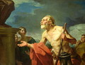 Diogenes Asking for Alms, 1767 - Jean Bernard Restout