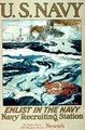 Help Your Country! Enlist In The Navy, US Navy 1st World War poster - Henry Reuterdahl