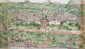 Map of the City of Jerusalem, from Peregrinatio in Terram Sanctam by Bernhard von Breydenbach 1440-97, 1486 3 - Erhard Reuwich