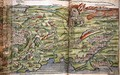 Map of the City of Jerusalem, from Peregrinatio in Terram Sanctam by Bernhard von Breydenbach 1440-97, 1486 2 - Erhard Reuwich
