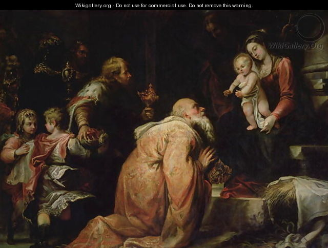 The Adoration of the Kings - Francisco Rizi