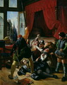 The Assassination of Brion, Tutor to the Prince of Conti (1558-1614) at the St. Bartholomews Day Massacre in 1572, 1833 - Joseph-Nicolas Robert-Fleury