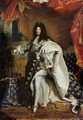 Louis XIV 1638-1715 in Royal Costume, 1701 - Hyacinthe Rigaud