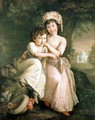 Portrait of Stephen Peter and Mary Anne Rigaud as Children 2 - John Francis Rigaud