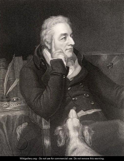 George Wyndham, 3rd Earl of Egremont, engraved by H.R. Cook fl.1813-1847, from National Portrait Gallery, volume IV, published c.1835 - Thomas Phillips