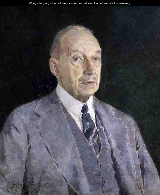 Portrait of Cecil Higgins, 1935 - Glyn Warren Philpot
