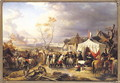 General De La Morliere Receiving the Surrender of Antwerp, 29th November 1792, 1837 - Felix Philippoteaux