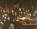 Lord Palmerston Addressing the House of Commons During the Debates on the Treaty of France in February 1860, 1863 - John Phillip