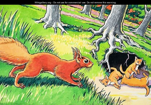 Little Red Squirrel 17 - Harry M. Pettit